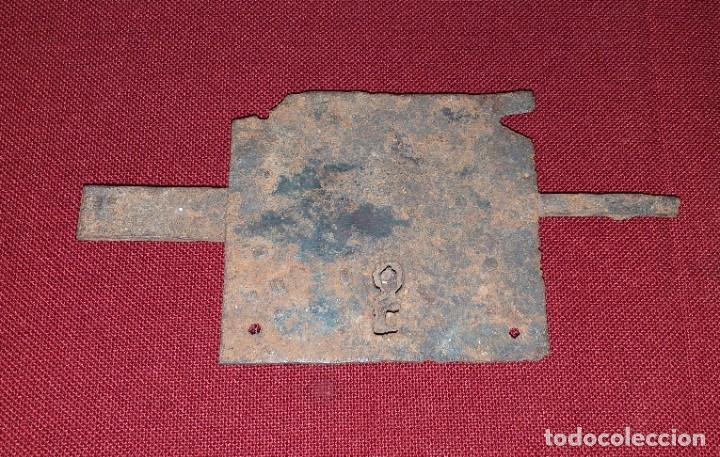 ANTIGUA CERRADURA (Antigüedades - Técnicas - Cerrajería y Forja - Cerraduras Antiguas)