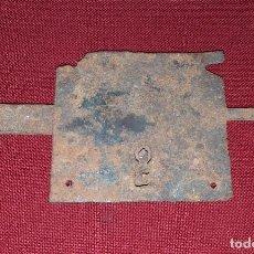 Antigüedades: ANTIGUA CERRADURA. Lote 206909132