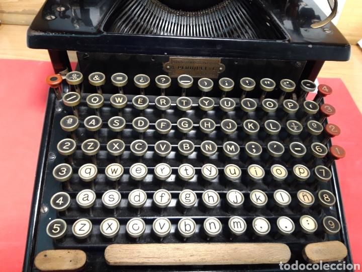 Antigüedades: Maquina de escribir Smith Premier 10 - Foto 3 - 206920837