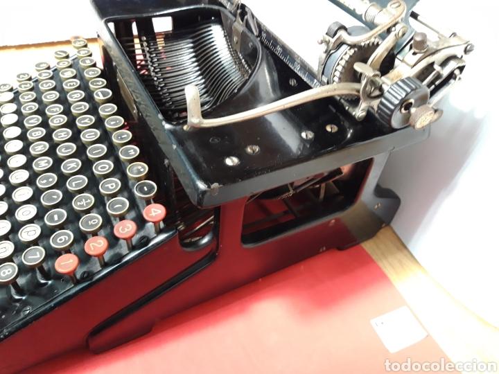 Antigüedades: Maquina de escribir Smith Premier 10 - Foto 4 - 206920837