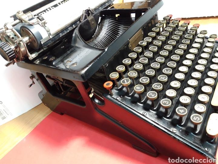Antigüedades: Maquina de escribir Smith Premier 10 - Foto 5 - 206920837