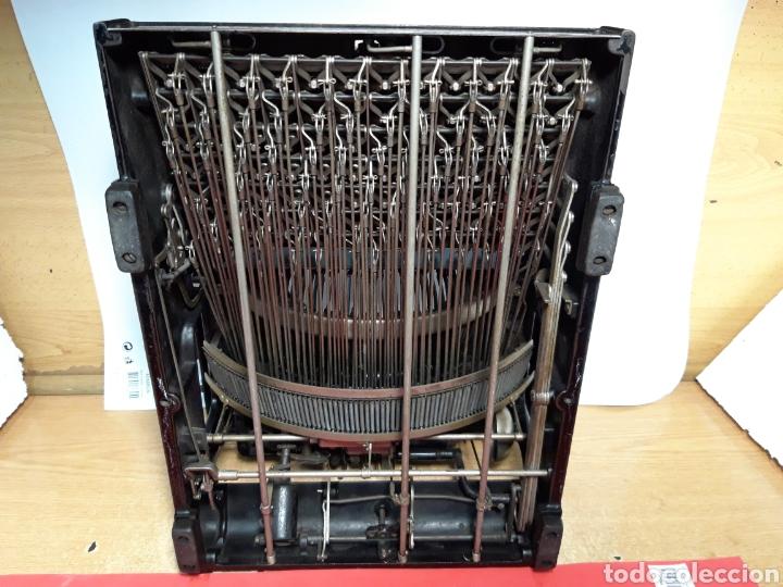 Antigüedades: Maquina de escribir Smith Premier 10 - Foto 8 - 206920837