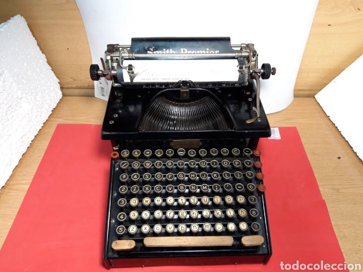 MAQUINA DE ESCRIBIR SMITH PREMIER 10 (Antigüedades - Técnicas - Máquinas de Escribir Antiguas - Smith)