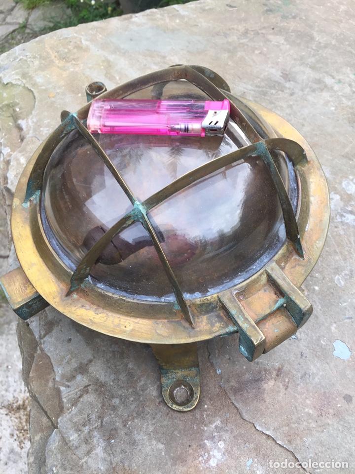 Antigüedades: Aplique ojo de buey.Farol de barco - Foto 2 - 206931048