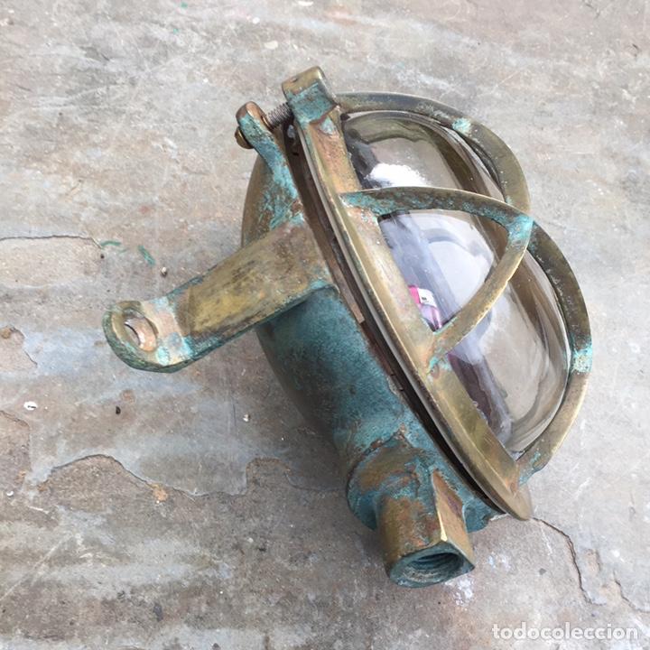 Antigüedades: Aplique ojo de buey.Farol de barco - Foto 6 - 206931048