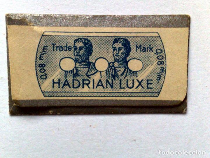 Antigüedades: HOJA DE AFEITAR ANTIGUA,HADRIAN LUXE,SIN USAR - Foto 2 - 206956360