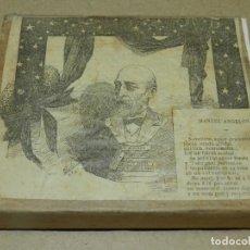 Antigüedades: (M) PLANCHA DE ZINC - MANUEL ANGELÓN - DIBUJO DE MIRÓ, 10X12CM, SEÑALES DE USO NORMALES. Lote 207008823