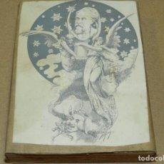 Antigüedades: (M) PLANCHA DE ZINC - ILUSTRADO POR ARGEMI, LO JARDI DEL GENERAL - 13X10CM, SEÑALES DE USO NORMALES. Lote 207009030