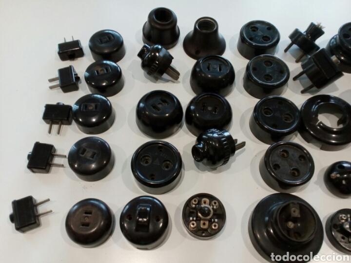 Antigüedades: Lote surtido de Material eléctrico antiguo - Foto 2 - 207024406