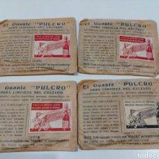Antigüedades: GUANTE PULCRO PARA CALZADO ,AÑOS 1930. Lote 207031471