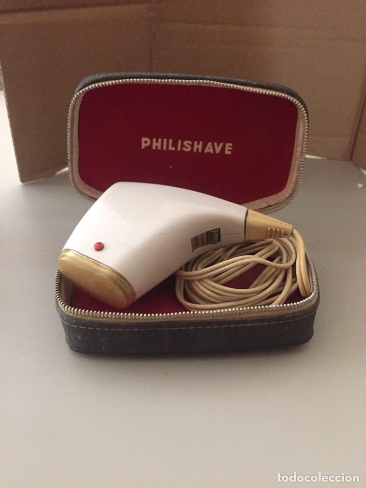 PHILISHAVE (AÑOS 60) (Antigüedades - Técnicas - Barbería - Maquinillas Antiguas)