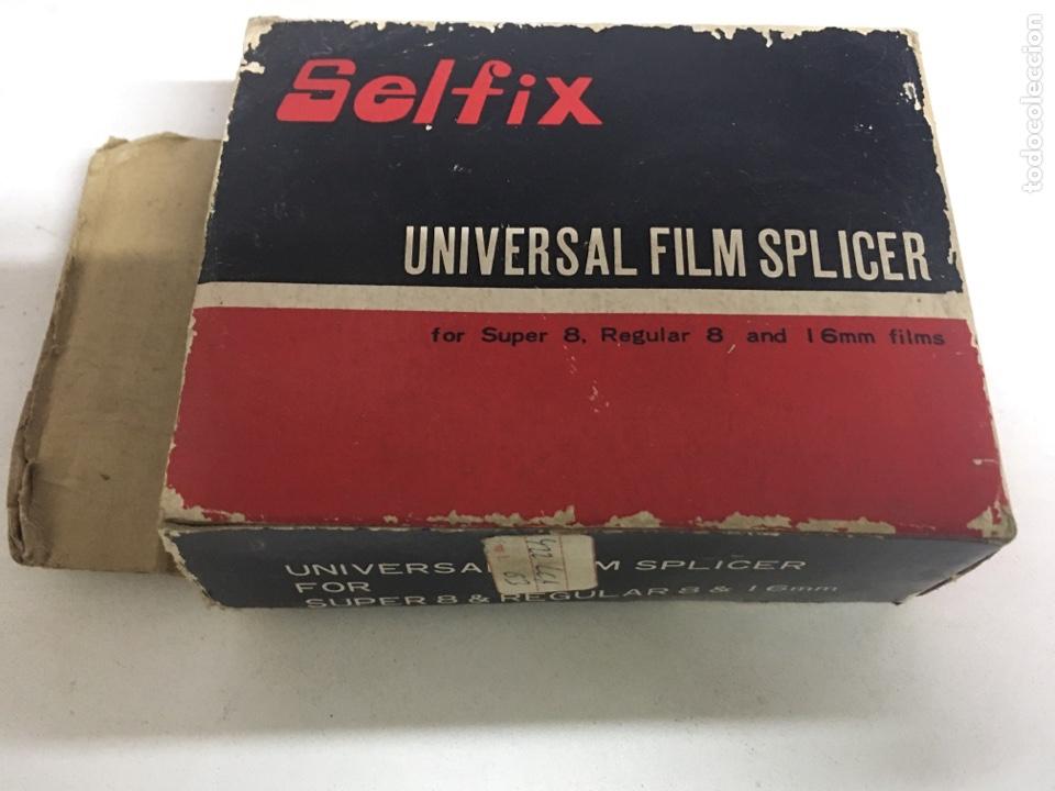 EMPALMADORA DE PELÍCULAS SÚPER 8 MM Y 16 MM - SELFIX - UNIVERSAL FILM SPLICER (Antigüedades - Técnicas - Aparatos de Cine Antiguo - Cámaras de Super 8 mm Antiguas)