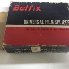 Antigüedades: EMPALMADORA DE PELÍCULAS SÚPER 8 MM Y 16 MM - SELFIX - UNIVERSAL FILM SPLICER. Lote 207111368