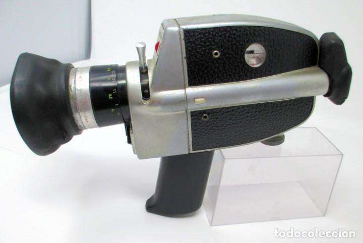 Antigüedades: Tomavistas de Súper 8 mm Bauer C2 Super. (No Funciona) Sólo para Exposición. - Foto 3 - 207125626