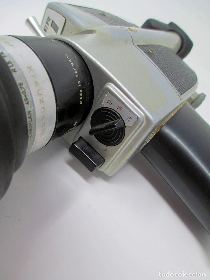 Antigüedades: Tomavistas de Súper 8 mm Bauer C2 Super. (No Funciona) Sólo para Exposición. - Foto 9 - 207125626