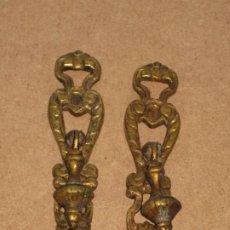 Antigüedades: DOS TIRADORES ANTIGUOS. Lote 207140920