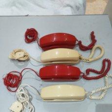 Teléfonos: LOTE DE 4 TELÉFONOS ANTIGUOS MODELO GÓNDOLA CITESA MALAGA - VER FOTOS. Lote 207145897
