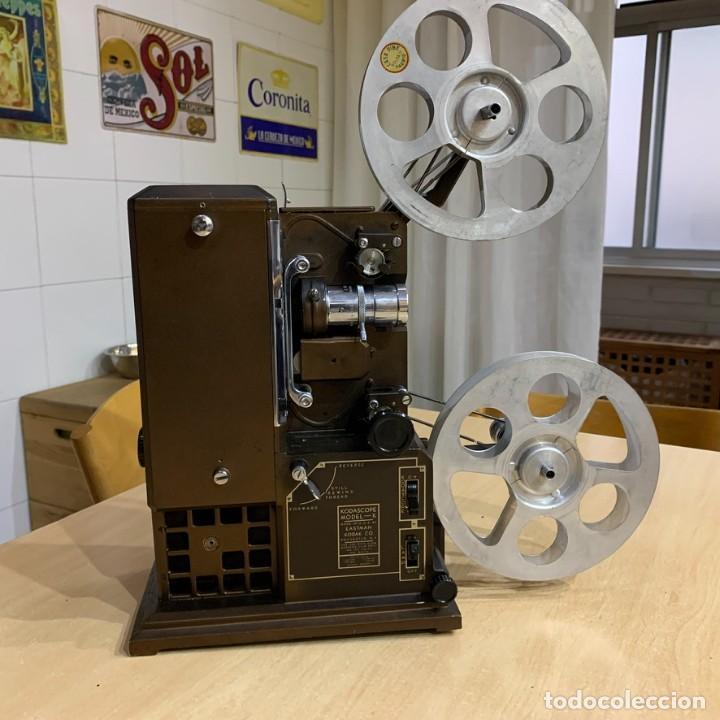 PROYECTOR DE CINE 16MM KODASCOPE MODELO K (Antigüedades - Técnicas - Aparatos de Cine Antiguo - Proyectores Antiguos)