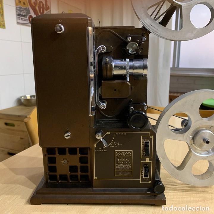 Antigüedades: Proyector de cine 16mm Kodascope modelo K - Foto 4 - 207152371