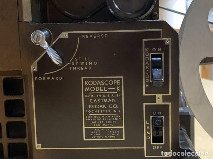 Antigüedades: Proyector de cine 16mm Kodascope modelo K - Foto 6 - 207152371
