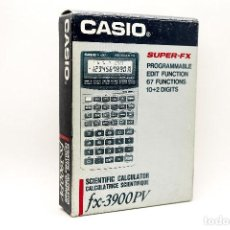 Antigüedades: CALCULADORA PROGRAMABLE CASIO FX-3900PV. Lote 207019873