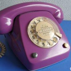 Teléfonos: TELÉFONO VINTAGE FUNCIONANDO, TELÉFONO ANTIGUO TIPO HERALDO.. Lote 207385795