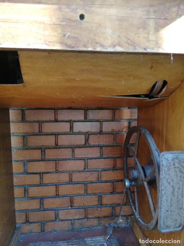 Antigüedades: Maquina de coser a pedal WERTHEIN - Foto 5 - 207397430