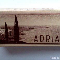 Antigüedades: ESTUCHE,ADRIA,COMPLETA DE 10 HOJAS DE AFEITAR ANTIGUAS,SIN USAR.. Lote 207576143
