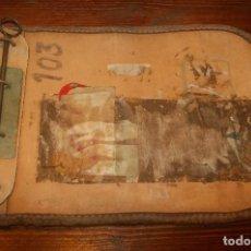 Antigüedades: SACA VALIJA FERROVIARIA RENFE. Lote 207592197