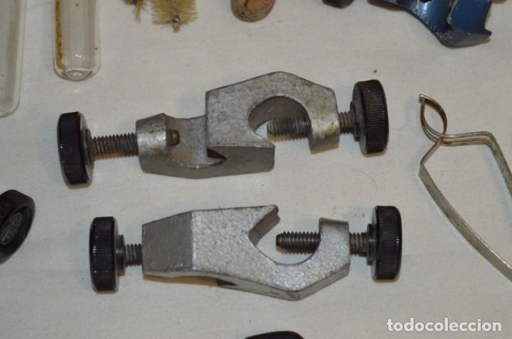 Antigüedades: Lote antiguo de útiles / objetos de QUÍMICA - QUIMICEFA - Cefa y otras ¡Mira fotos y detalles! - Foto 9 - 207707397