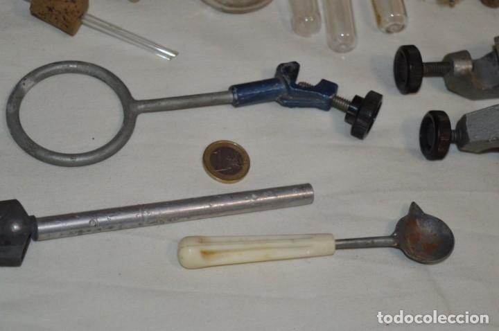 Antigüedades: Lote antiguo de útiles / objetos de QUÍMICA - QUIMICEFA - Cefa y otras ¡Mira fotos y detalles! - Foto 12 - 207707397