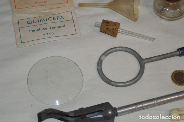 Antigüedades: Lote antiguo de útiles / objetos de QUÍMICA - QUIMICEFA - Cefa y otras ¡Mira fotos y detalles! - Foto 14 - 207707397