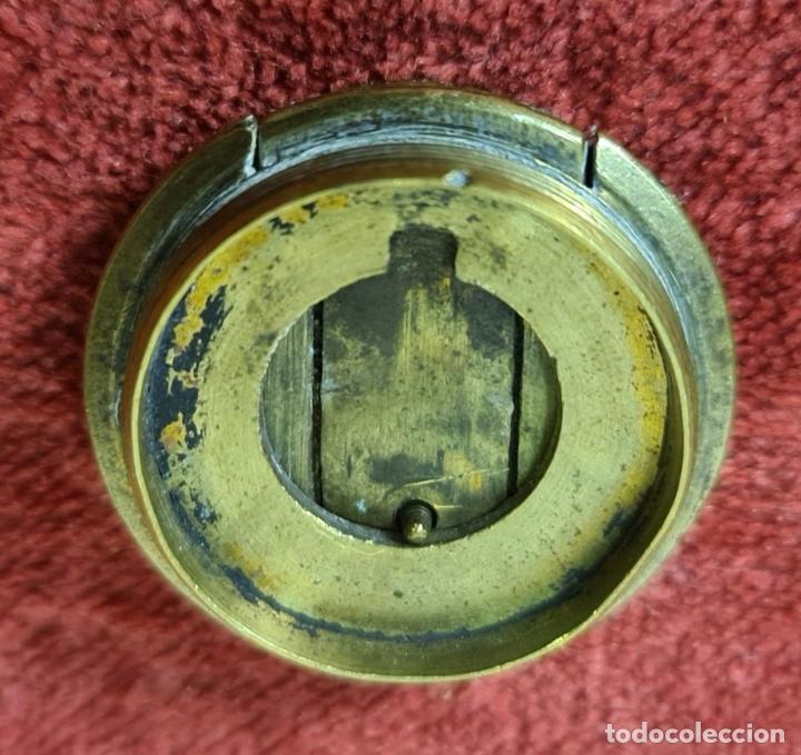 Antigüedades: TELESCOPIO NAVAL. FIRMADO TAUNTON. INGLATERRA. SIGLO XIX. - Foto 7 - 207796706