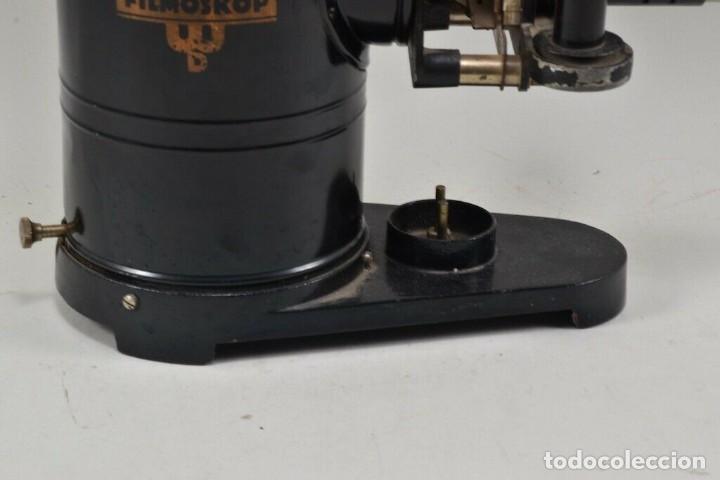 Antigüedades: GRANDE ,ANTIGUA LINTERNA MAGICA PRECINE FILMOSKOP proyector 290,00 eur - Foto 4 - 207826153