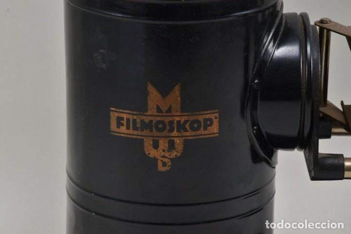 Antigüedades: GRANDE ,ANTIGUA LINTERNA MAGICA PRECINE FILMOSKOP proyector 290,00 eur - Foto 5 - 207826153
