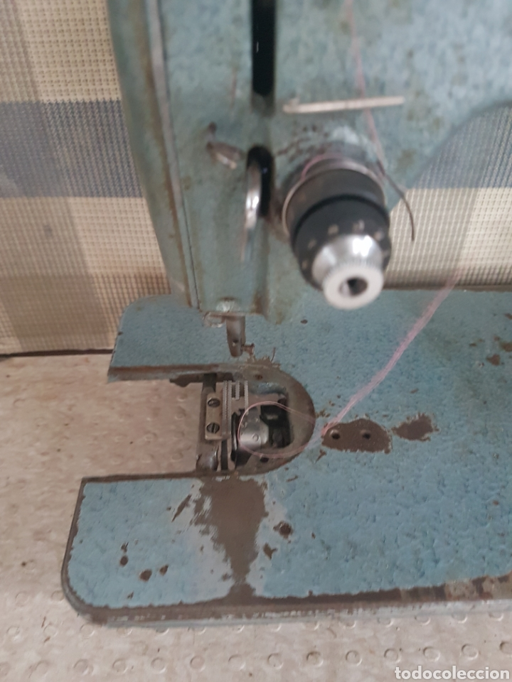 Antigüedades: Máquina coser industrial Alfa - Foto 2 - 207872126