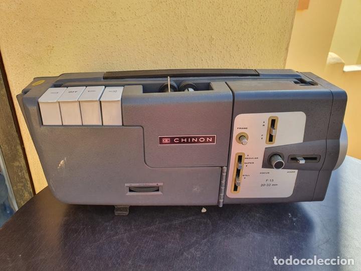 Antigüedades: Bonito proyector chinon C-100, en su caja - Foto 3 - 207884956
