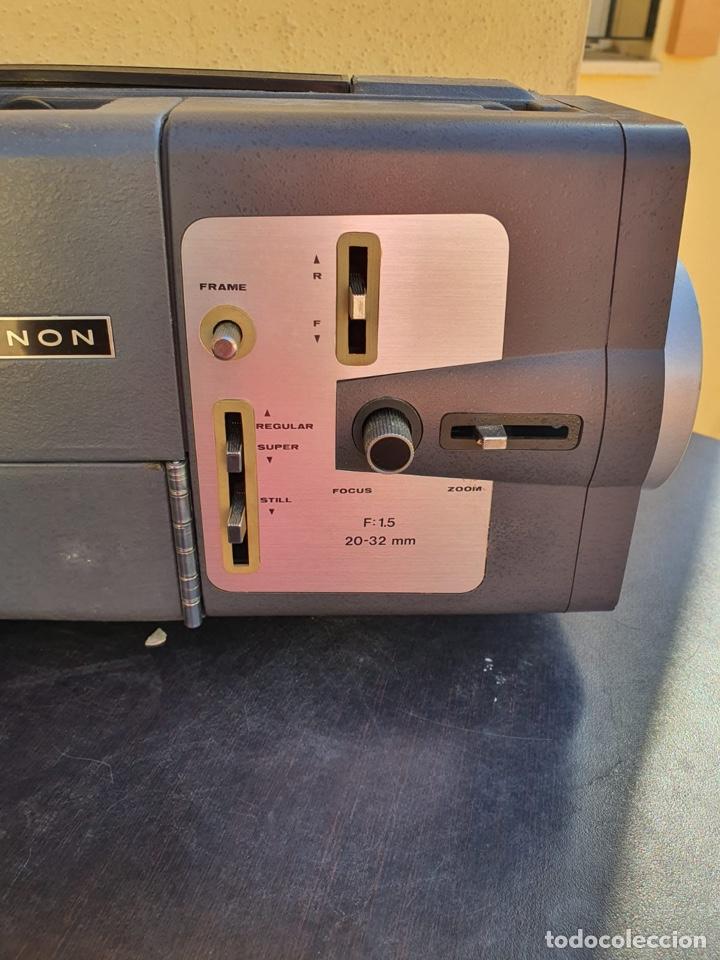 Antigüedades: Bonito proyector chinon C-100, en su caja - Foto 9 - 207884956