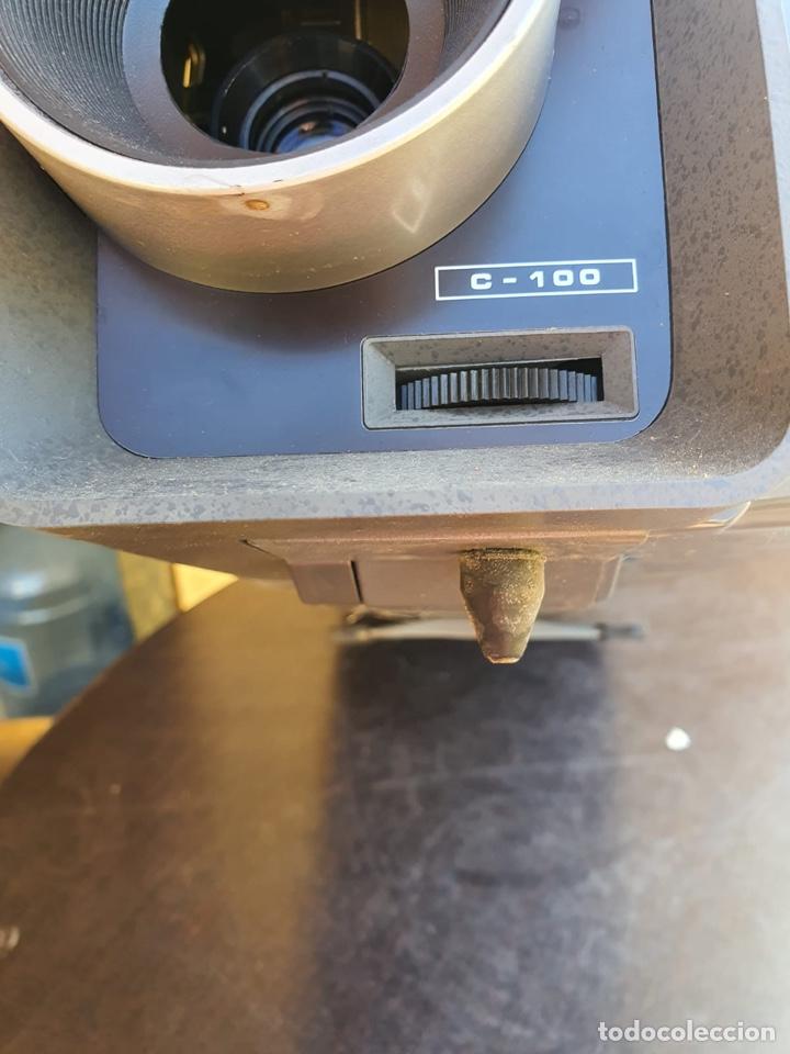 Antigüedades: Bonito proyector chinon C-100, en su caja - Foto 16 - 207884956