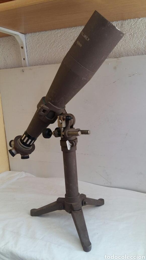 ANTIGUO TELESCOPIO POLARES 80 MM (Antigüedades - Técnicas - Instrumentos Ópticos - Microscopios Antiguos)