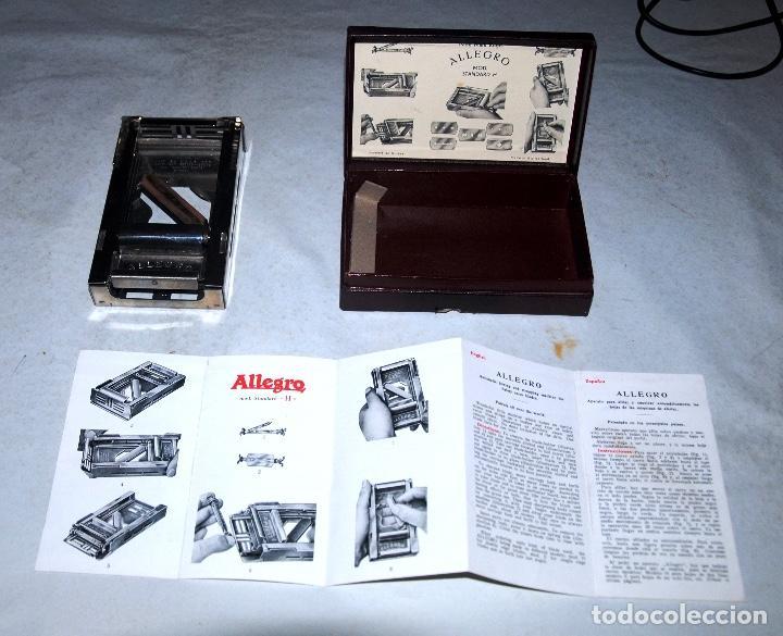 Antigüedades: APARATO PARA AFILAR Y SUAVIZAR AUTOMÁTICAMENTE LAS HOJAS DE LAS MÁQUINAS DE AFEITAR - Foto 7 - 207992941