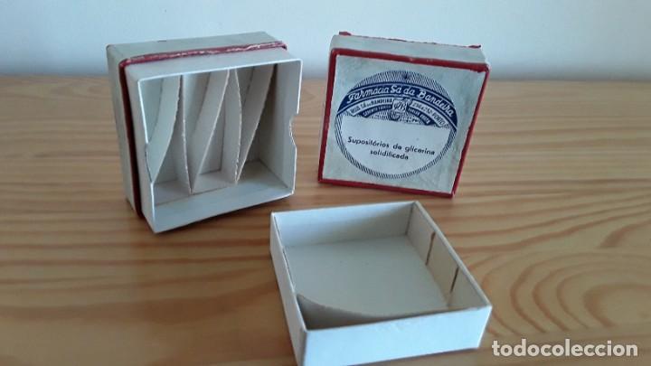 Antigüedades: Caja de cartón supositorios - Foto 2 - 208007658