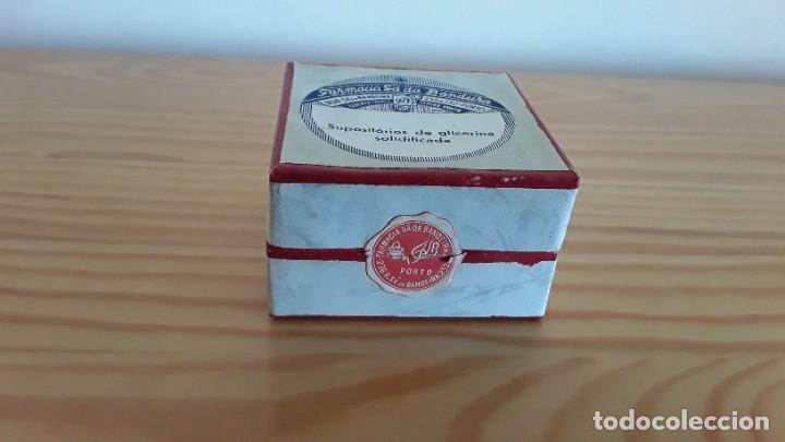 Antigüedades: Caja de cartón supositorios - Foto 4 - 208007658