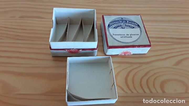 Antigüedades: Caja de cartón supositorios - Foto 5 - 208007658