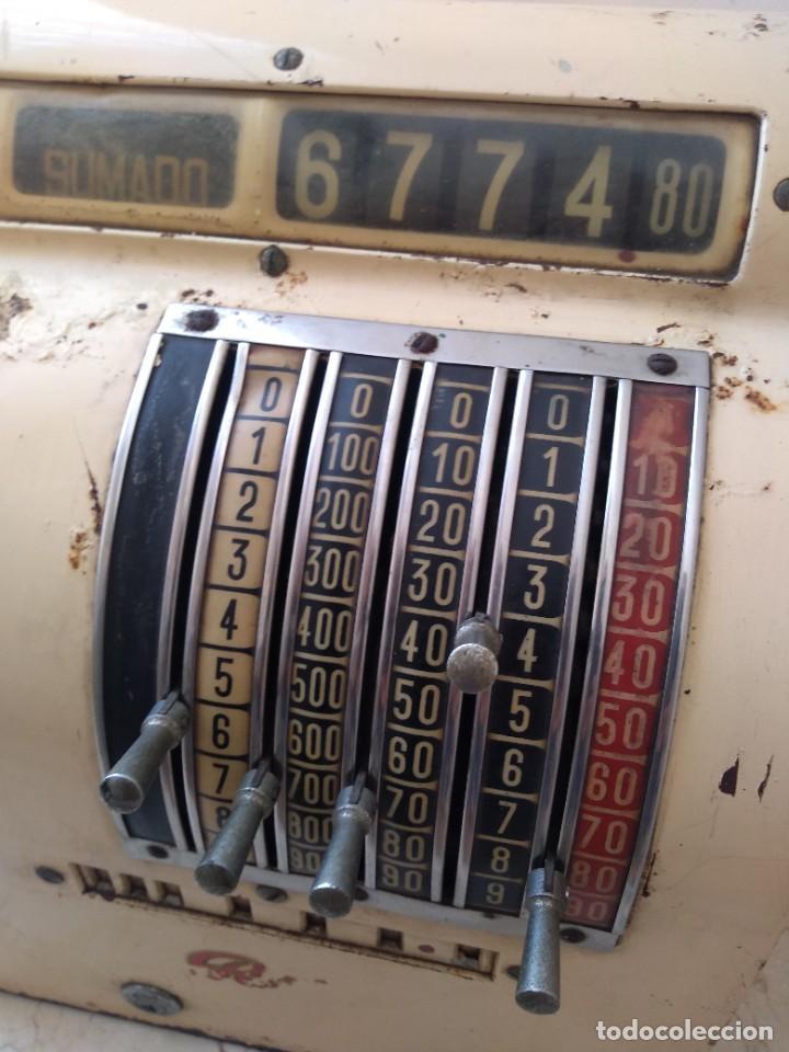 Antigüedades: Antigua maquina registradora Roch Funciona - Foto 2 - 208035363