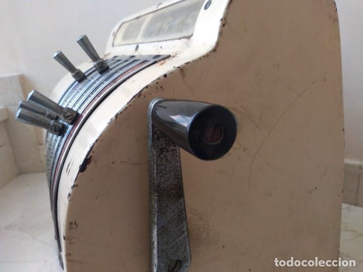 Antigüedades: Antigua maquina registradora Roch Funciona - Foto 6 - 208035363