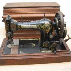 Antigüedades: MAQUINA COSER A MANIVELA SINGER.FUNCIONA. Lote 208045885