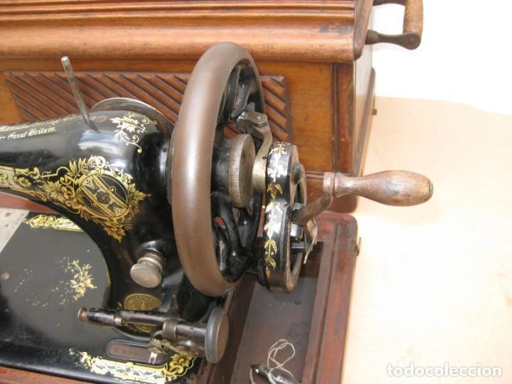 Antigüedades: Maquina coser a manivela Singer.Funciona - Foto 2 - 208045885