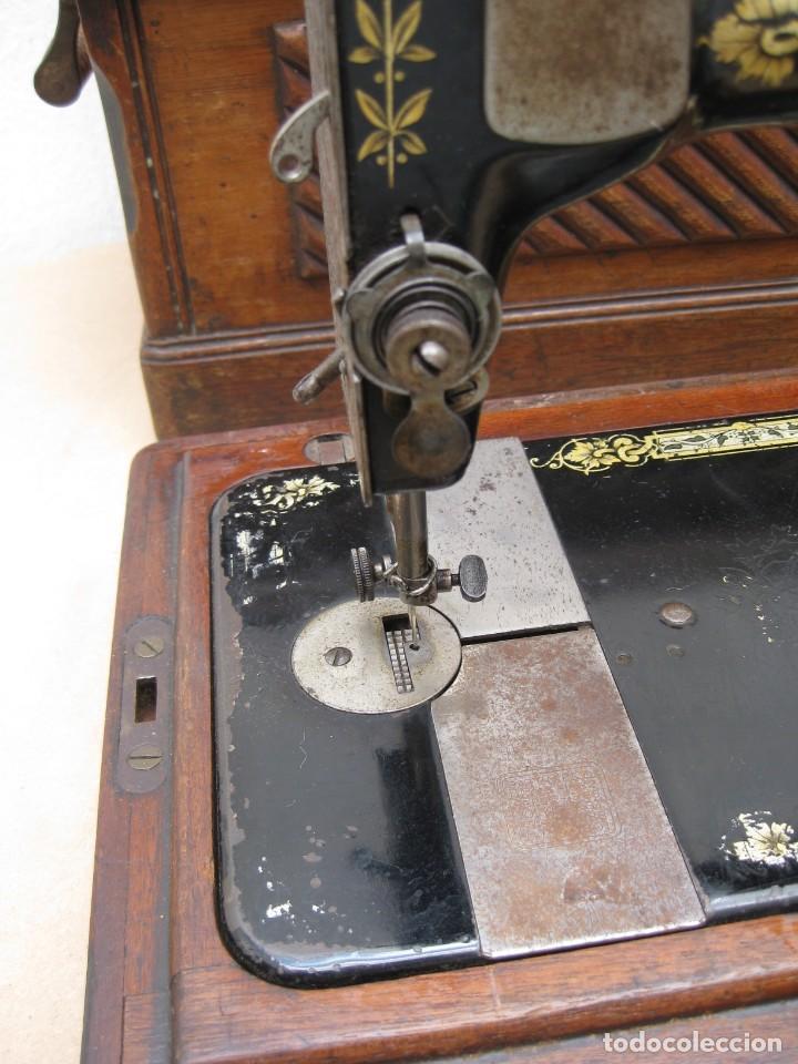 Antigüedades: Maquina coser a manivela Singer.Funciona - Foto 6 - 208045885
