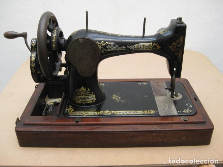 Antigüedades: Maquina coser a manivela Singer.Funciona - Foto 12 - 208045885